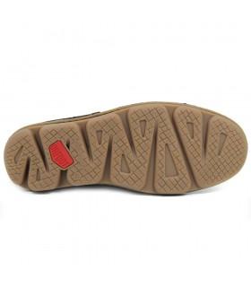 Zapato - Elástico - Nobuck - Marrón