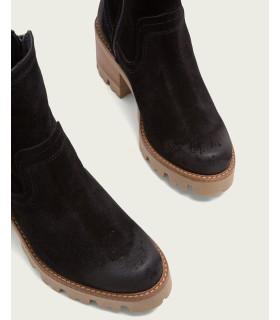 Zapato - Cuña - Piel - Plata - Confort