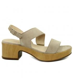 Sandalia - Tiras - Velcro - Piel - NEgro - Bio