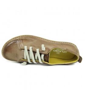 Sandalia - Piel - Velcro - Roo - Bio