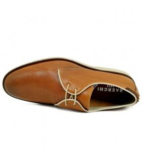 Sandalias - Cuña - Velcro - Piel - MArino - Bio
