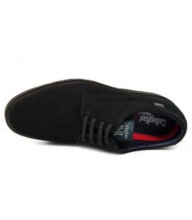Zapato - Tacón - HEbilla - Piel - NEgro