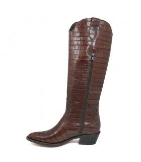 Sandalia - Velcro - Texil - MArino - Goga max