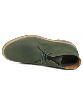 Sandalia - Velcro - Textil - Gris - Goga Max