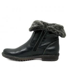 Zapatillas - Elásticos - Textil - NEgro
