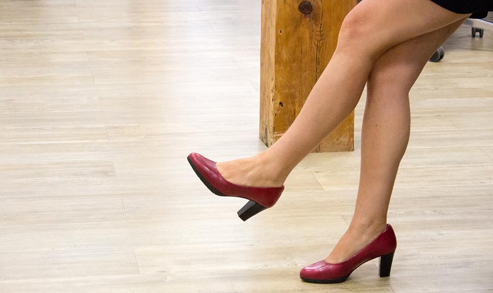 zapatos mujer rojos
