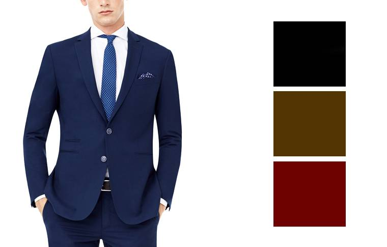 C mo combinar zapatos y trajes para hombre blog for Que color asociar con el gris claro