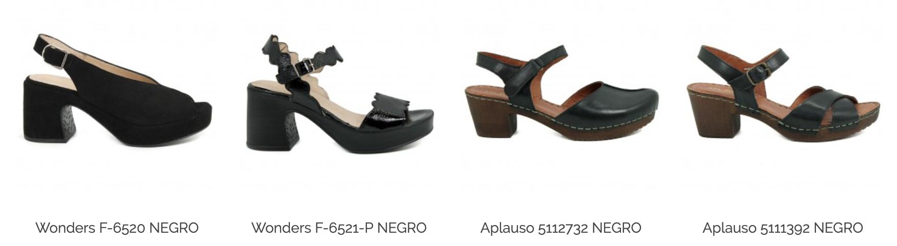 zapatos negros de mujer madrid