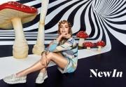 El blanco sigue de tendencia en zapatos deportivos de mujer